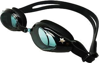 cc2062fc15 Palantic Black UV Nearsighted Prescription Corrective Youth Swim Goggles