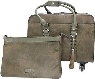 Simply Noelle Fishtail Roller Bag (Sage)