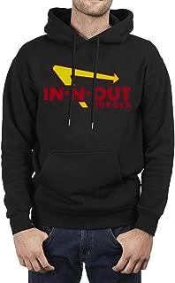 Men's Novelty Hoodie Long Sleeve Black Pullover Casual Sweatshirt