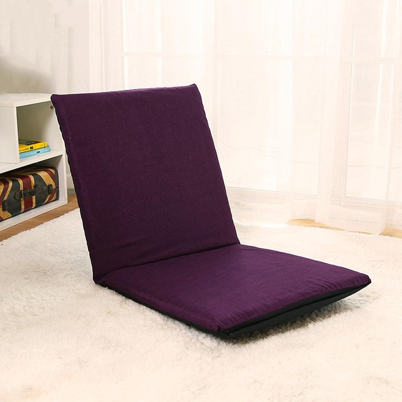 Camping Chair Floor Chair Foldable Bay Windo Chair Single Sofa Sandy Beach Leisure Recliners 5 Files Adjustable