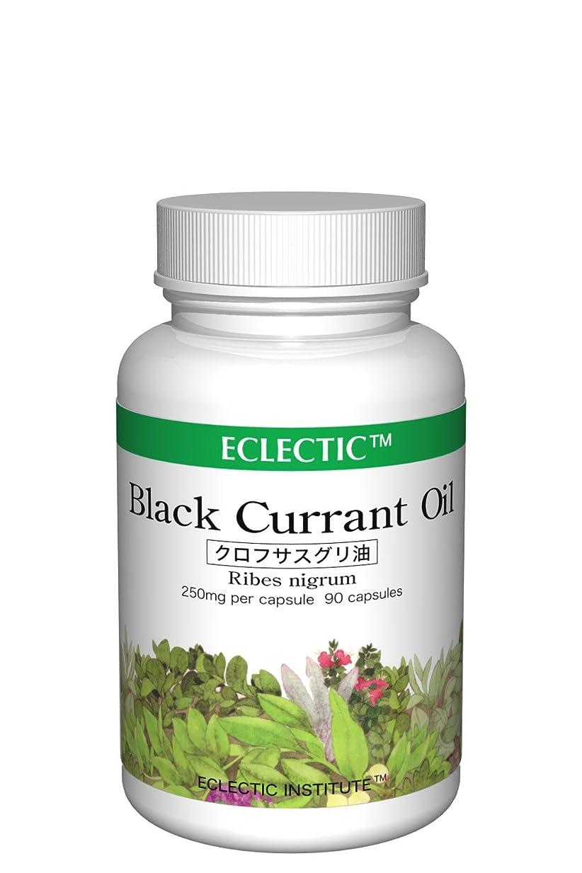 経済的ドール叙情的なECLECTIC エクレクティック クロフサスグリ油 Black Currant Oil オイル 250mg 90カプセル 新パッケージ