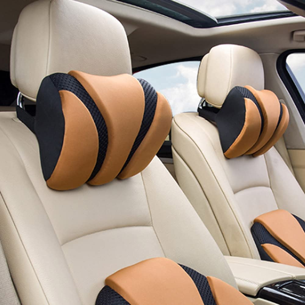 TYUXINSD mart Comfortable Car Headrest Neck for Se-at fit Pillow 5% OFF