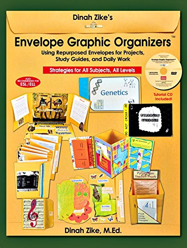 Dinah Zikes Envelope Graphic Organizers Using Repurposed Envelopes For Projects Study Guides And Daily Work Strategies For All Subjects All Levels Foldables
