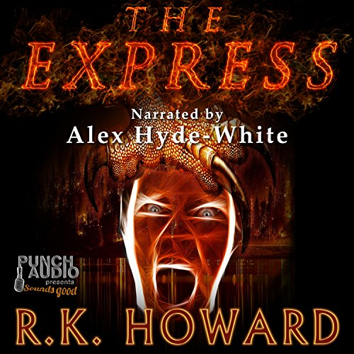 The Express audiobook cover art