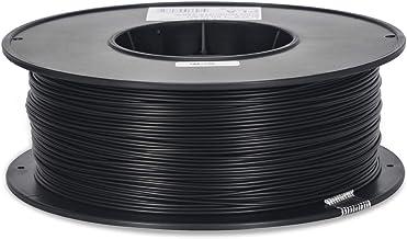 Inland 1.75mm Black PLA 3D Printer Filament - 1kg Spool (2.2 lbs)