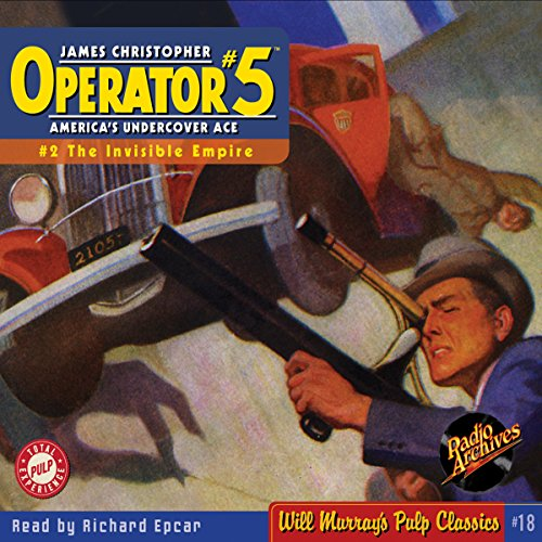 Couverture de Operator #5, Adventure 2, May 1934
