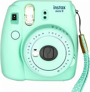 Fujifilm Instax Mini 9 Instant Camera - Mint Green (Renewed)
