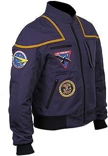 Aus Eshop Mens Jonathan Archer Star Trek Enterprise Scott Bakula Blue Cotton Jacket