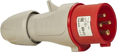 Legrand LEG55665 Prolongateur plexo 20 A 3p+t IP44-ik08 poign/ée avec sortie lat/érale