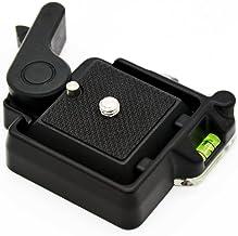 Andoer® Compacto Quick Release Asamblea Plataforma Clamp + Placa de Liberación Rápida para Giottos MH630 Montaje de Cámara MH7002-630 MH5011