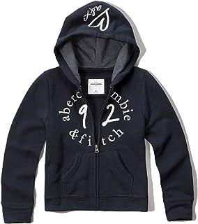 [アバクロキッズ] AbercrombieKids 正規品 子供服 ガールズ パーカー shine logo full-zip sweatshirt 252-771-0322-023 並行輸入品 (コード:4101210006)
