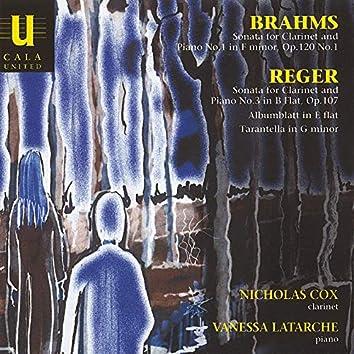 Brahms & Reger: Clarinet Sonatas