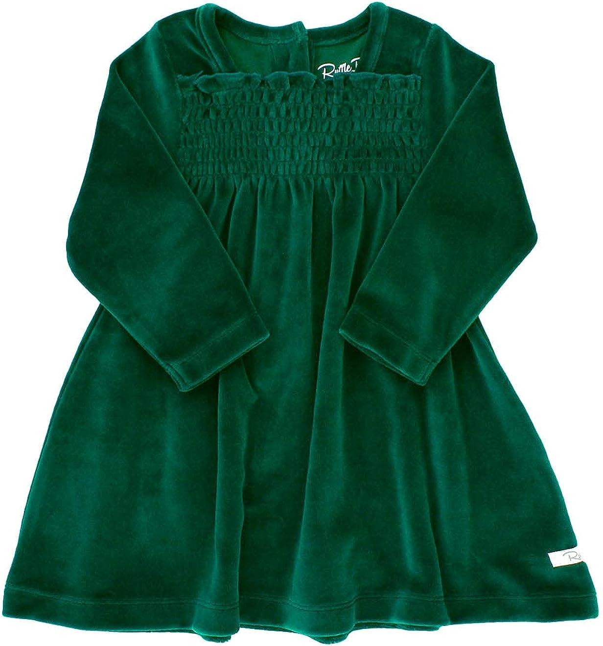 RuffleButts Many popular brands Baby Toddler Girls Flowy Virginia Beach Mall Button Back Tiered Dress