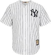 Majestic New York Yankees Pinstripe 1915Cooperstown Cool Base Jersey de béisbol