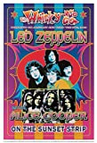 (14x20) Dennis Loren Led Zeppelin and Alice Cooper Whisky-A-Go-Go Los Angeles 1969 Music Poster Print