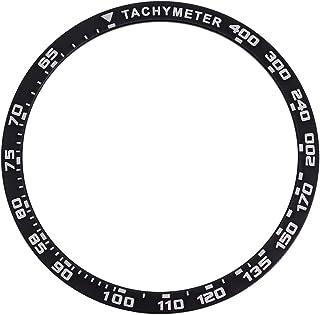 ULTECHNOVO サムスンギャラクシーウォッチベゼルリングに対応42mmギアスポーツアンチスクラッチプロテクションケースサムスンウォッチブラックに対応