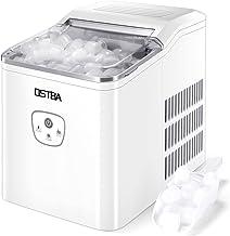 OSTBA Machine à glaçons,26 lbs/12 kg en 24 Hours,Automatique électrique Compact Portable Machine à glace,9 Glaçons Par 8 M...