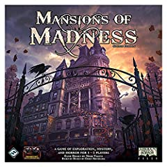 A fully cooperative Lovecraftian board game for one to five players Required companion app available on iOS, Android, windows, and Mac Features four campaigns of varying length and difficulty Over 500 detailed components, including 32 plastic figures...