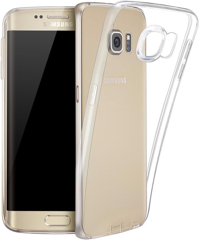 Coque Samsung S6 Edge Plus, Coque Galaxy S6 Edge Silicone, ESR ...