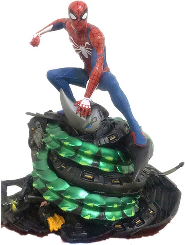 excelentes precios The Avengers Spiderman Model Model Model Marvel Spiderman Scene Estatua Material De PVC -19cm Uniones Inmóviles  venta con alto descuento