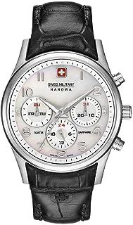Swiss Military Hanowa - Reloj Analógico para Mujer de Cuarzo con Correa en Cuero 06-6278.04.001.07