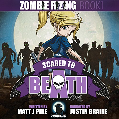 Scared to Beath audiobook cover art