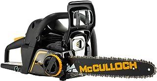 McCulloch CS 42STE Motosierra de Gasolina, 42 CC, Negro y Amarillo, 14 Pulgadas
