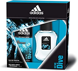 Adidas Ice Dive Set para Hombre - 150 ml