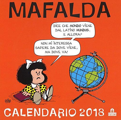 Mafalda. Calendario da parete 2018