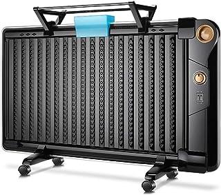 Lxn Versión mecánica Negra Calentador de radiador Lleno de Aceite Mini termostato de Sala eléctrica portátil 1800W