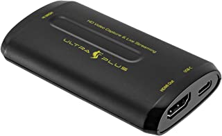 プリンストン ULTRA PLUS HDMIビデオキャプチャーユニット (ソフトウェアエンコード、1080p/60fps、ゲーム録画・配信) UP-GHDAVL