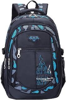 Flora Camo Waterproof Primary School Backpack Bookbag for Teenage Boys Camouflage Schoolbag Rucksack