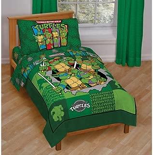 Teenage Mutant Ninja Turtles 4 Piece Toddler Bedding Set