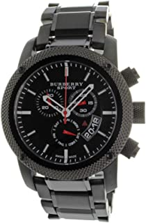 black burberry sport watch