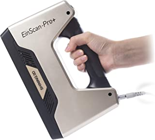 EinScan-Pro+ with R2 Function Multi-Functional Handheld 3D Scanner, White Light, 4 Scan Modes, 0.05 mm Accuracy 550,000 Po...
