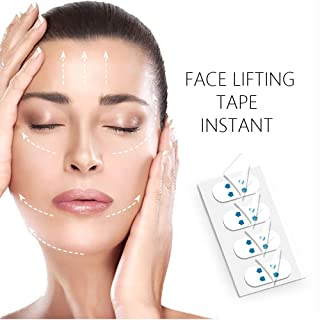 Face Lift Tape Face Lifting Patch Double chin Sticker V Shape Face Chin Lift Fast Invisible Artifact Sticker Make-up Face Lift Tools 40PCS/Box