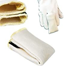 FEESHOW Welding Finger Heat Shield Tig Safety Gloves - Finger Tips Weld Protection Gloves