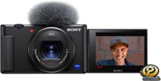 Sony ZV-1 Camera for Content Creators and Vloggers, Black (DCZV1/B)