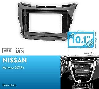 UGAR 11-642 Kit de Panel Frontal de instalaci/ón de Tablero de Radio DIN Doble para Opel Vivaro 2014+ RENAUL Trafic 2014+