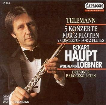 Telemann, G.P.: Concertos for 2 Flutes