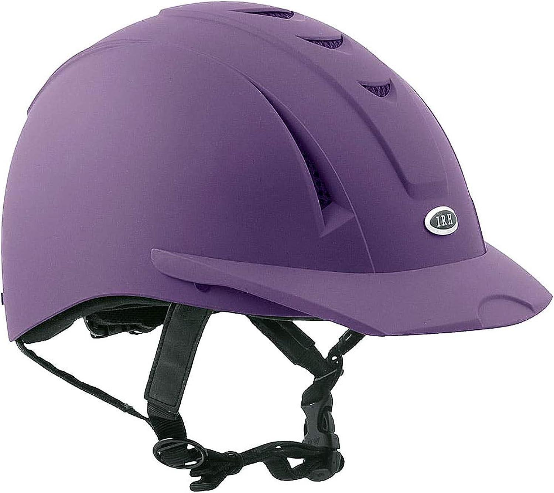 IRH EquiPro Helmet XSmall Purple Matte