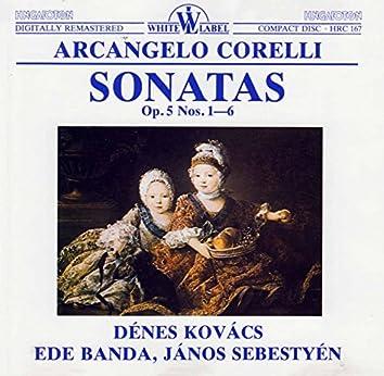 Corelli: Sonatas, Op. 5, Nos. 1-6