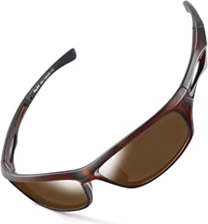 39a4b6fd57149 GREY JACK Lightweight Polarized Sports Sunglasses UV Protection Lens Tr  Durable Frame for Men Women