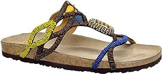 edición limitada Malìparmi Malìparmi Malìparmi Mujer SJ01859026370B40 Marrón Cuero Sandalias  suministro directo de los fabricantes