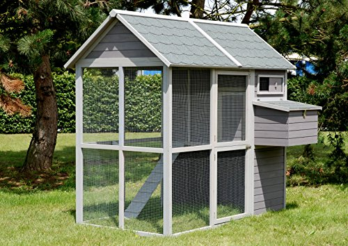 Poulailler d'extérieur en bois Medium Square 2 - LIFLAND