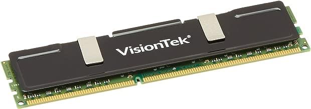 VisionTek 4GB DDR3 1333 MHz  (PC3-10600) CL9 DIMM Low Profile Heat Spreader, Desktop Memory - 900385