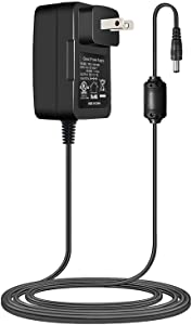 TKDY 18V AC to DC Power Supply Adapter, US Wall Charger fit for 18volt 0.1A 0.15A 0.2A 0.25A 0.3A 0.4A 0.5A 0.6A 0.7A 0.8A 0.9A 100mA~1000mA Equipment, for Logitech Squeezebox Wi-Fi Internet Radio.
