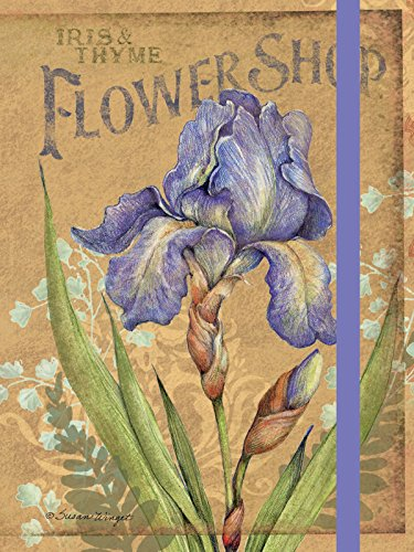 Lang Iris Pocket Journal by Susan Winget, 3.75 x 5 inches, 160 Ruled Pages (1340011)