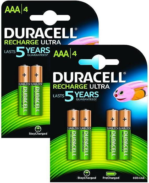 Duracell Wiederaufladbare Wiederaufladbar Ultra Aaa Elektronik
