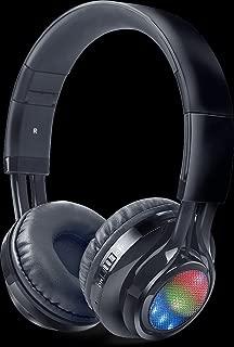 iBall Glint-BT06 Neckband Wireless Bluetooth Headphones with FM Radio and Mic (Black)